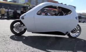 NASA gyro. tech. meets new Elec. Car