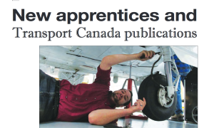 New apprentices and Transport Canada publications